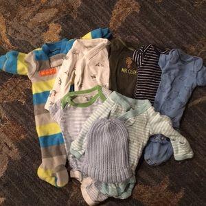 Other - Sweet premie baby boy bundle